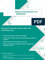 What is Customer Success and Why is It Important