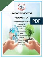 Conservacion-Del-Medio-Ambiente-Monografia