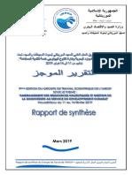 Rapport de synthèse du 9ème groupe de travail de l'IMROP