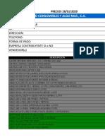 PRECIOS TCYALGOMAS INV. EXC. 28012020.xls