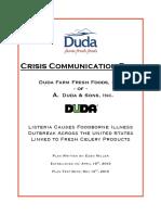 finaldoccrisis communication plan