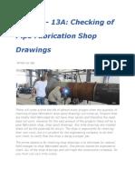 33.Checking Fabrication Drawings-Shop