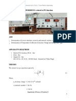 18 Experiments related to PN Junction
