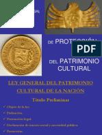 EXPO LEY GENERAL DEL PATRIM CULT.ppt