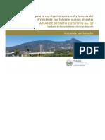 Atlas Decreto Ejecutivo 57 Directrices ZAUS Volcan de San Salvador
