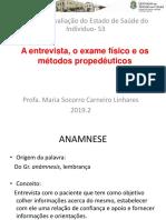 5a aula.A entrevista_Exame físico_Metódos propedêuticos.ppt