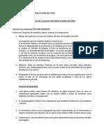 POLITICAS DE LA IGLESIA METODISTA LIBRE DEL PERU CORREGIDA