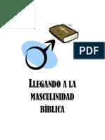 Masculinidad Biblica