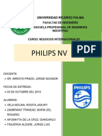 Caso 4 philips nv Resumen de lectura