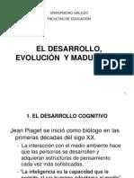 C.DiazDesarrollo, evolución y maduración Psico desarrollo I.