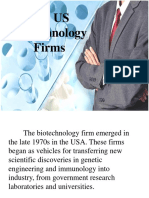 The US Biotechnology Firms