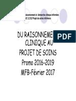 Du Raisonnement Clinique Au Projet de Soins 3