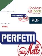 Marketing Mgmt..Perfetti,Conagra,Cargill Foods