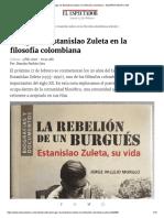 El lugar de Estanislao Zuleta en la filosofía colombiana