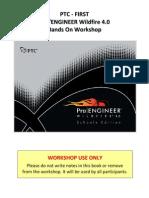 Pro Engineer WF4 First Hands on Workshop
