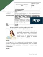 TALLER correspondecia comercial-ESTUDIO DE CASOS