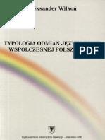 Typologia odmian językowych współczesnej polszczyzny (Aleksander Wilkoń).pdf