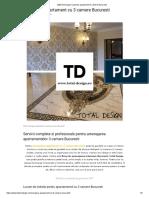 2020 Amenajare Superba Apartament 3 Camere Bucuresti