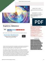 Registros Akhásicos _ Evolución consciente