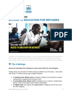ACCESS TO EDUCATION FOR REFUGEES