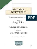 Libretti - Puccini - Madame Butterfly