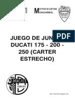Juntas Motor DUCATI V0.3
