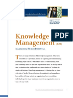 Knowledge Management Concept