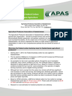 2020 APAS Carbon Costing Estimates