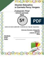 cuadernillo sociales III periodo 5°