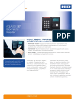 Iclass Se Biometric Reader