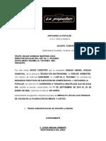 CARTA DE TERMINO 2