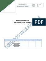 Procedimiento de Movimiento de tierras  (consorcio valle amauta 4).docx