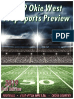 2019 Okie West Prep Sports Preview - Fall Edition