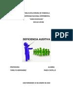 CARACTERÍSTICAS LINGÜÍSTICAS DE LA LENGUA DESEÑAS VENEZOLANA