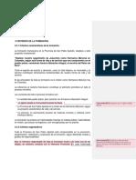 CRITERIOS DE LA FORMACIÓN
