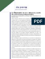 #Torrelodones Pleno presupuestos 2011
