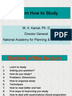 Learn How to Study b