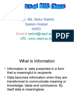Management Information Systems ( MIS )