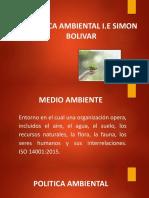 POLITICA AMBIENTAL simon bolivar