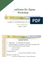 LeanGreen-Six Sigma 040509 PDF