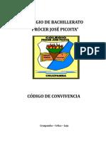 CODIGO DE CONVIVENCIA CPJP