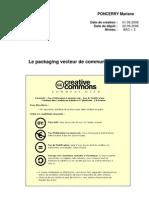 Le Packaging Vecteur de Communication