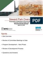 Seward Park Neighborhood CB3 presentation