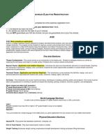 incoming freshman elective worksheet 2020