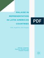 Alfredo Joignant, Mauricio Morales, Claudio Fuentes Eds. Malaise in Representation in Latin American Countries Chile, Argentina, And Uruguay