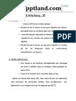 Essai Limites d'Atterberg IP