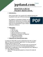 Determination a Sec Du Coefficient Micro-Deval