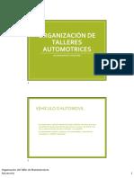 Organización talleres automotrices