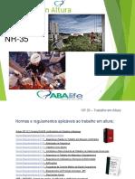 ABALIFE NR-35 Construção Civil