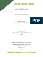 CUADRO COMPARATIVO NORMAS ISO sistema integrado de gestion